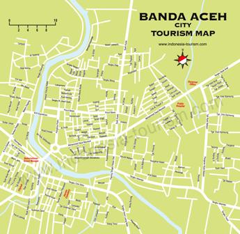 peta banda aceh city