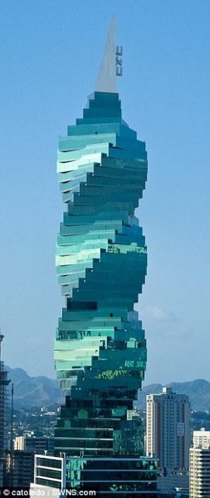 the F&F Tower, Panama City